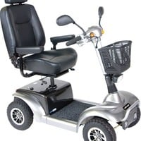 Prowler 4-Wheel Scooter 3410 - Drive Medical 4-Wheel Full Size Scooters   TopMobility.com