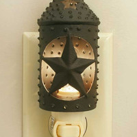 CTW Home Collection - Punched Star Paul Revere Night Light