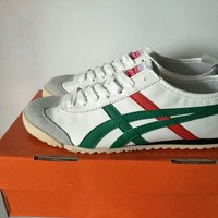 """""""Onitsuka Tiger"""" Unisex Classic Running Sport Casual Couple Plate Shoes Sneakers"""