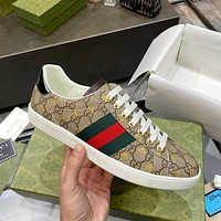 Gucci classic white shoes