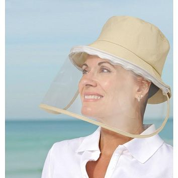 Hat with Face Shield