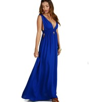 Royal Free Spirit Maxi Dress