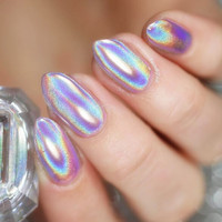 Born Pretty Unicorn Holographic Laser Nail Glitter Powder Holo Rainbow Effect Pigment Manicure Nail Art Chrome Polish Pigments