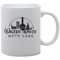 Breaking Bad Walter White Meth Lab Coffee Mug