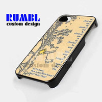 Winnie the Pooh Vintage - iPhone 4/4s/5 Case - Samsung Galaxy S3/S4 Case - Black or White