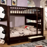 Soccer Twin over Twin Bunk Beds
