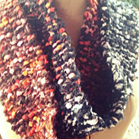 Funky Chunky Monkey Knitted Scarf Extra Long