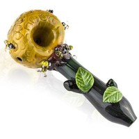 Empire Glassworks Beehive Themed Mini Spoon Pipe
