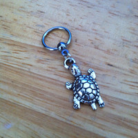 Turtle captive bead ring - Turtle Belly Button Ring, Nipple Ring, Cartilage - Body Jewelry