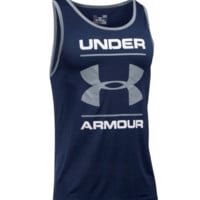 Under Armour Men's Tech Graphic Tank Sleeveless HeatGear Shirt - 2XL/XL/L - NWT