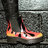 Fire Sign Heavy Sole Boot