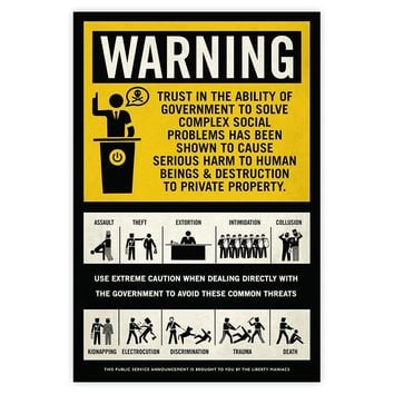 Government Warning Poster
