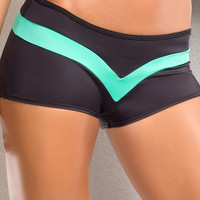 Vertical Vixen Dragonfly Short,Mint Workout Shorts