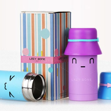 Stainless Steel Vacuum Insulated Thermos Travel Tumbler for Lovers