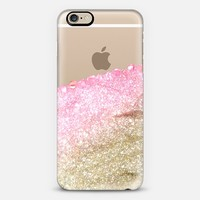 PRETTY COVERED PINK FAUX GOLD by Monika Strigel iPhone 6 case by Monika Strigel | Casetify