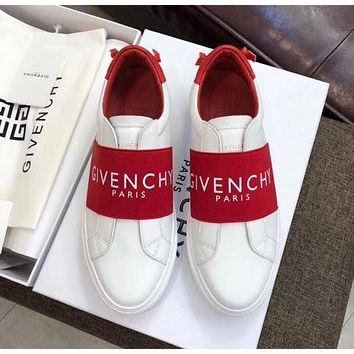 Givenchy new white shoes men's and women's shoes couple shoes low-top sneakers flat casual sports sneakers