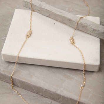 The Right One Gold Necklace