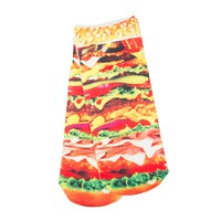 SUBLIMATED BURGER SOCK - New Arrivals | Boathouse Stores