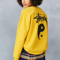 Stussy Yin-Yang Logo Pullover Sweatshirt - Urban Outfitters