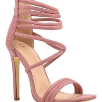 LANA Rose Dust Strappy Heels