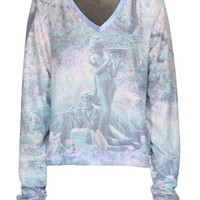 WILDFOX  Good & Evil Multi Weicher Sweater mit Print - What's new