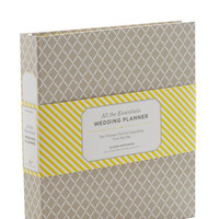 Only Have Organize For You Wedding Planner by Chronicle Books from ModCloth