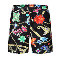 VERSACE Summer Trending Men Casual Print Sports Running Beach Shorts