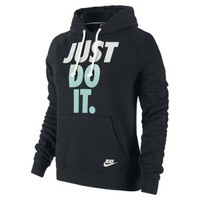 Nike Store. Nike Rally Just Do It Pullover Women's Hoodie