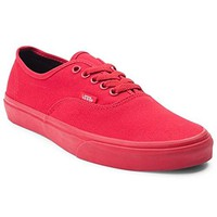 Vans Authentic Skate Shoe (Mens 7.5/Womens 9, Red)