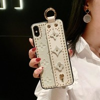 Louis Vuitton LV iPhone Phone Cover Case For iphone X iphone 8 8plus iPhone6 6s 6plus 6s-plus iPhone 7 7plus Mobile Phone Shell