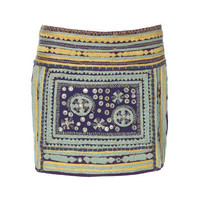 EMBROIDERED SKIRT WITH MIRRORS - Woman - New this week - ZARA United States