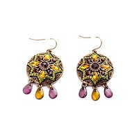 Fall Colors Dangling Earrings