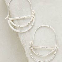 Tiered Crescent Hoops by Anthropologie