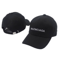 Balenciaga Cap Hat Embroidered Sports Baseball Cap Hat Summer Unisex