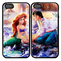 Ariel The Little Mermaid Custom couple Case for by viagrashop