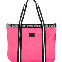 Zip-Top Tote - PINK - Victoria's Secret