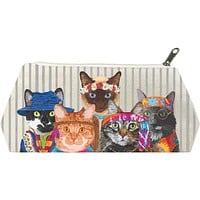 Groovy Cats Canvas Bag