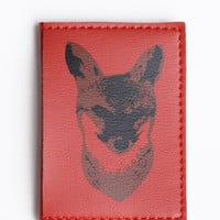 Fox Trot Mini Wallet by Fluffyco - $20.00 : ThreadSence.com, Your Spot For Indie Clothing  Indie Urban Culture
