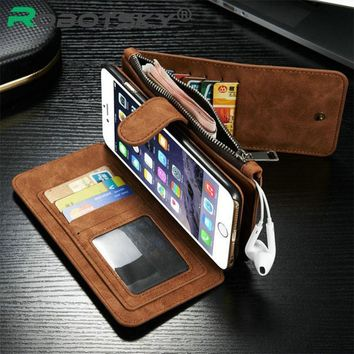 """Case Cover for iPhone i6 6s Leather Wallet 6 6S 4.7 Ich 6S Plus 5.5"""""""