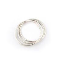 Sterling Silver Stacking Rings - Sterling Silver /