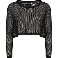This Is A Love Song Manta Mesh Cropped Hoody