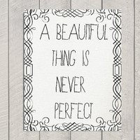 Inspirational Art Print  A Beautiful Thing by DeliveredByDanielle