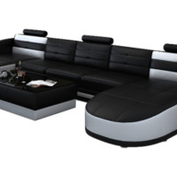 Alana Double Chaise Sectional by Scene Furniture - Opulentitems.com