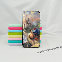 Cartoon iPhone Case, Beauty And The Beast, iPhone Case 4 & 4s,iphone 5, Samsung S3 S4 iphone 5c Disney Cartoon,bestFriend gifts