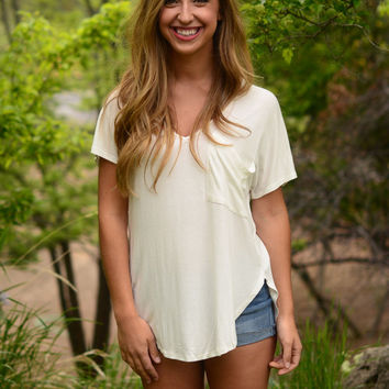 The Promise Tee- Ivory