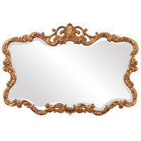 Howard Elliott Talida Gold Mirror  - Howard Elliott 21188