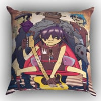 Cool Gorillaz Z1031 Zippered Pillows  Covers 16x16, 18x18, 20x20 Inches