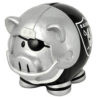 Oakland Raiders NFL Team Thematic Piggy Bank (Small)