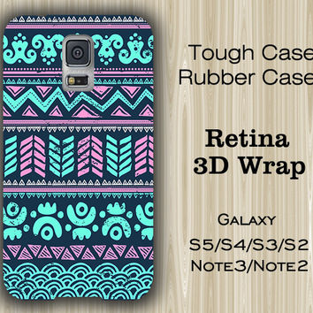 Light Green Pink Ethnic Samsung Galaxy S5/S4/S3/Note 3/Note 2 Case