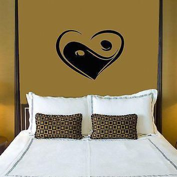 Wall Stickers Vinyl Decal Love Heart For Family Bedrooms Unique Gift ig1585